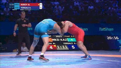 Magomedaji Nurov (MKD) vs Alisher Yergali (KAZ)