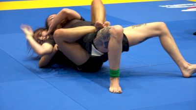 Jessie Crane Flexes Clinical Back Attacks To Become No-Gi World Champ