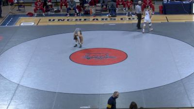 141- DJ Lloren (Fresno State) vs Jeff Boyd (West Virginia)