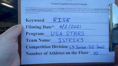 USA Stars - JStrik3 [L3 Junior - D2 - Small] 2021 The Regional Summit Virtual Championships