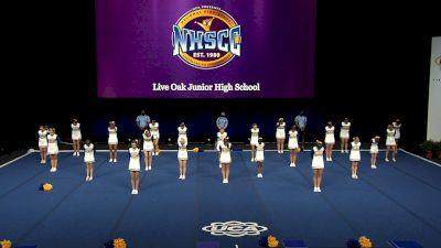 Live Oak Junior High School [2021 Large Junior High Finals] 2021 UCA National High School Cheerleading Championship