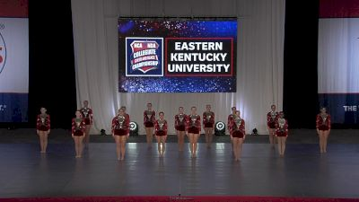 Eastern Kentucky University [2021 Team Performance Division I Finals] 2021 NCA & NDA Collegiate Cheer & Dance Championship