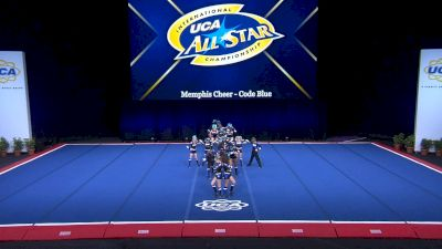 Memphis Cheer - Code Blue [2021 L1 Youth - D2 - Small Day 2] 2021 UCA International All Star Championship