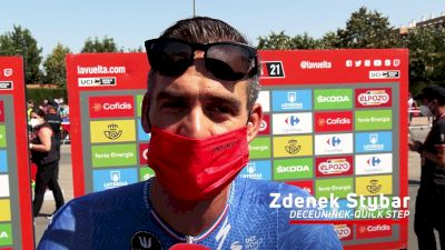 Vuelta a España: Zdenek Stybar Excited About UCI Road Worlds And 'Holy Week'