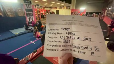 Las Vegas All Stars - Jade [L4 Senior Coed] Varsity All Star Virtual Competition Series: Event V