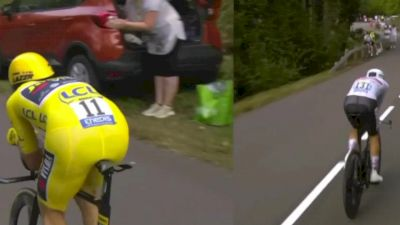 Watch In Canada: Primoz Roglic vs Tadej Pogacar Full Time Trial