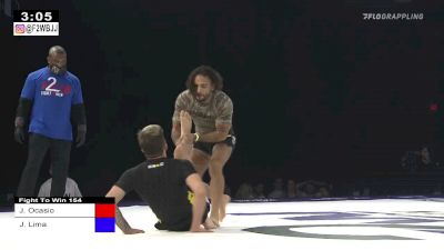 Clip: Junny Lands A Rear Triangle Armbar At Fight To Win