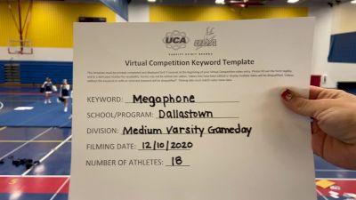 Dallastown High School [Game Day Varsity] 2020 UCA Pocono Virtual Regional