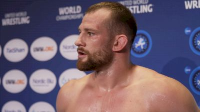 Yazdani Motivates David Taylor To Get Better Every Day