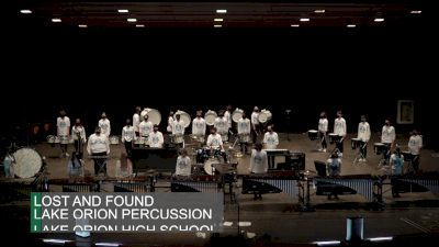 Lake Orion Percussion - Lost and Found