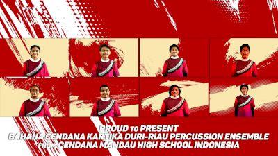Bahana Cendana Kartika Duri - Riau Percussion Ensemble - Zodiac