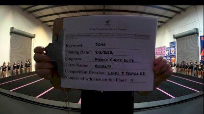Fierce Cheer Elite - Royalty [L3 Junior - D2 - Small] 2021 The Regional Summit Virtual Championships