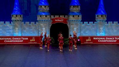 Hamilton High School - Dance Company [2021 Small Varsity Jazz Finals] 2021 UDA National Dance Team Championship