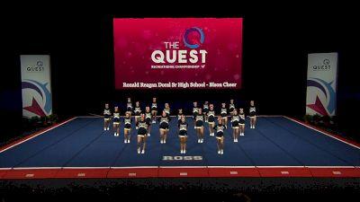 Ronald Reagan Doral Sr High School - Bison Cheer [2021 L3.1 Performance Rec - 18Y (NON) - Large Semis] 2021 The Quest