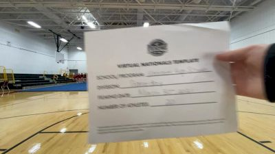 Voorhees High School [Virtual Large Varsity - Game Day Finals] 2021 UCA National High School Cheerleading Championship