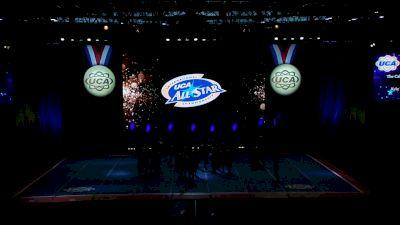 The California All Stars - Las Vegas - Royalty [2021 L4.2 Senior Coed Day 1] 2021 UCA International All Star Championship