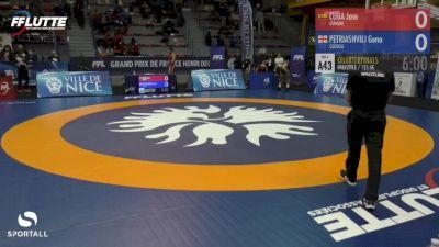 125 kg Quarterfinal - Geno Petriashvili, Georgia vs Jose Cuba, Spain