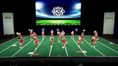 Bluefield College [2021 Open All Girl Game Day Semis] 2021 UCA & UDA College Cheerleading & Dance Team National Championship