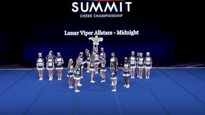 Lunar Viper Allstars - Midnight [2021 L4 Senior Coed - Small Wild Card] 2021 The Summit