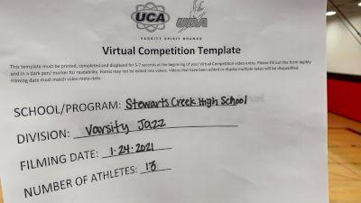 Stewarts Creek High School [Medium Varsity Jazz] 2021 UDA South Spring Virtual Dance Challenge
