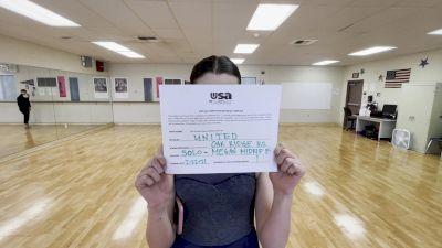 Oak Ridge High School [Open - Solo] 2021USA Virtual Dance Winter Series #2