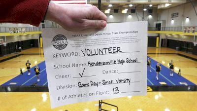 Hendersonville High School [Game Day - Small Varsity] 2021 TSSAA Cheer & Dance Virtual State Championships