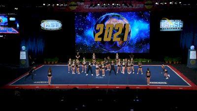Five Star - Wicked [2021 L6 Senior Medium Coed Finals] 2021 The Cheerleading Worlds
