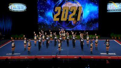 The California All Stars - Livermore - Black Ops [2021 L6 Senior Medium Coed Semis] 2021 The Cheerleading Worlds