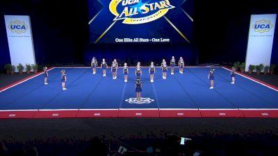One Elite All Stars - One Love [2021 L1 Mini - D2 Day 2] 2021 UCA International All Star Championship