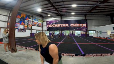 Rockstar Cheer - Charleston - COVER GIRLS [L1 Junior - Novice] 2021 Varsity All Star Winter Virtual Competition Series: Event V