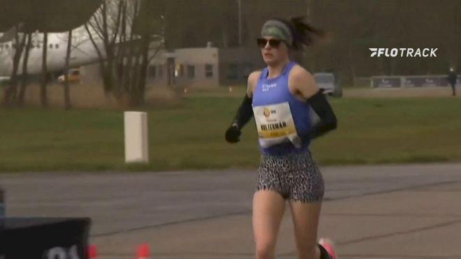 2021 NN Mission Marathon Women's Race Finish