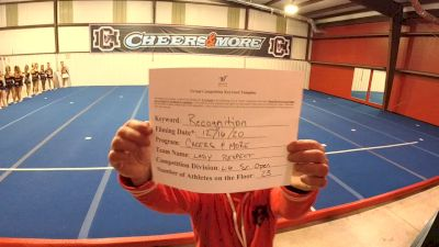 Cheers & More - Lady Respect [Level 6 L6 Senior Open] 2020 America's Best Virtual National Championship