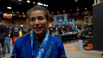 Anna Rodrigues Beats Mayssa Bastos to Become Pan Champ
