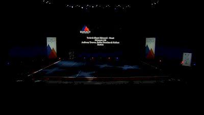 Twist & Shout Edmond - Heart [2021 L5 Junior - Large Semis] 2021 The Summit