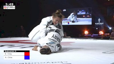 Lis Clay Collects Another Leglock, This Time In The Gi