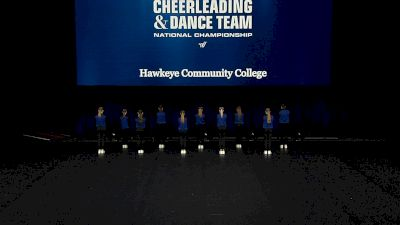 Hawkeye Community College [2021 Open Hip Hop Finals] 2021 UCA & UDA College Cheerleading & Dance Team National Championship