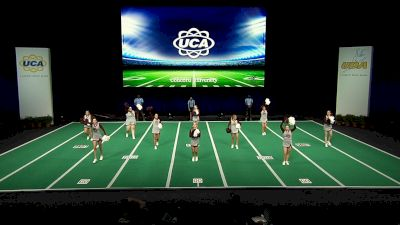 Concord University [2021 Open All Girl Game Day Semis] 2021 UCA & UDA College Cheerleading & Dance Team National Championship