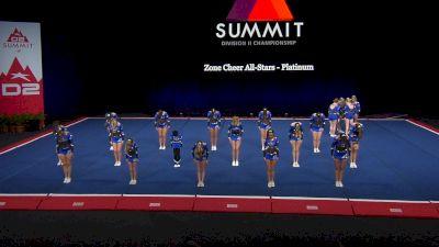 Zone Cheer All-Stars - Platinum [2021 L4 Junior - Small Finals] 2021 The D2 Summit