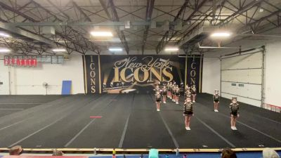 New York Icons - Gold Crush [L2 Youth - Small] 2021 Varsity All Star Winter Virtual Competition Series: Event II
