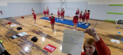 Devil Cheerleading - Lady Devils [L3.1 Traditional Recreation - 14 and Younger (AFF)] 2021 Varsity Rec, Prep & Novice Virtual Challenge IV