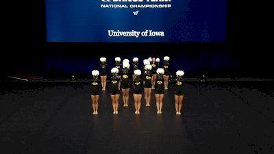 University of Iowa [2021 Division IA Pom Semis] 2021 UCA & UDA College Cheerleading & Dance Team National Championship