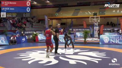 65 kg - James Green, USA vs Marwane Yezza, France