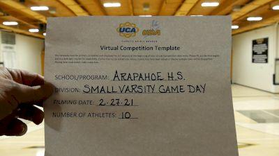 Arapahoe High School [Varsity - Game Day] 2021 UDA West Spring Virtual Dance Challenge