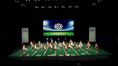 Liberty Christian Academy [2021 Super Non Tumbling Game Day Semis] 2021 UCA National High School Cheerleading Championship