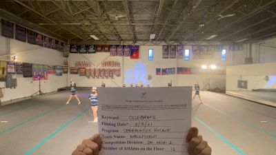 Cheerletics Royalty - Maleficent [L2 Mini] 2021 Spirit Festival Virtual Nationals