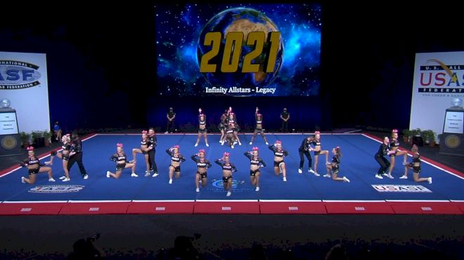 Infinity Allstars - Legacy [2021 L6 International Open Coed Non Tumbling Finals] 2021 The Cheerleading Worlds