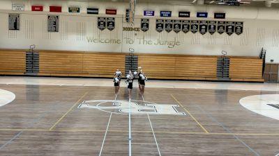 Rock Canyon High School - Freshman Pom [Junior Varsity - Pom] 2021 UCA & UDA March Virtual Challenge