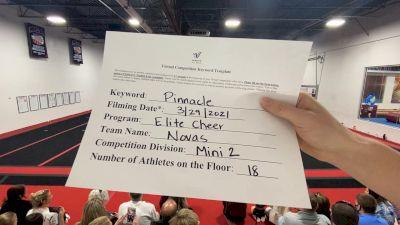Elite Cheer - Novas [L2 Mini] 2021 The Regional Summit Virtual Championships
