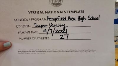 Hempfield Area High School [Virtual Super Varsity Semi Finals] 2021 UCA National High School Cheerleading Championship