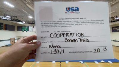Sonoran Trails Middle School [Junior High Show Cheer Novice] 2021USA Virtual Spirit Regional #2 and All Star Dance Regional #1